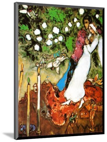 Three Candles-Marc Chagall-Mounted Art Print