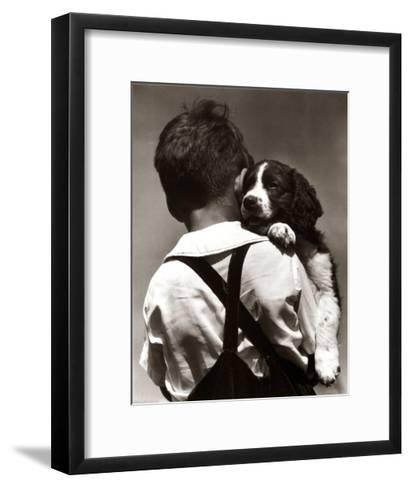 Puppy Love-H^ Armstrong Roberts-Framed Art Print