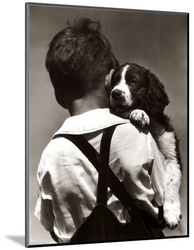 Puppy Love-H^ Armstrong Roberts-Mounted Art Print