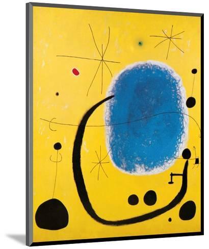 L'Oro dell' Azzurro-Joan Mir?-Mounted Art Print