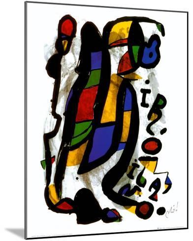 Milano-Joan Mir?-Mounted Art Print