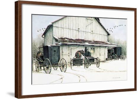 The Gathering-Ben C^ Richmond-Framed Art Print