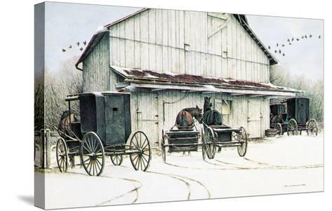 The Gathering-Ben C^ Richmond-Stretched Canvas Print