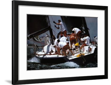 Working Together--Framed Art Print