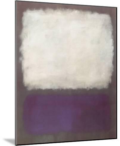 Blue and Grey, c.1962-Mark Rothko-Mounted Art Print