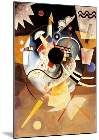 One Center-Wassily Kandinsky-Mounted Art Print