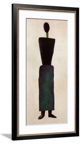 Womanfigure-Kasimir Malevich-Framed Art Print