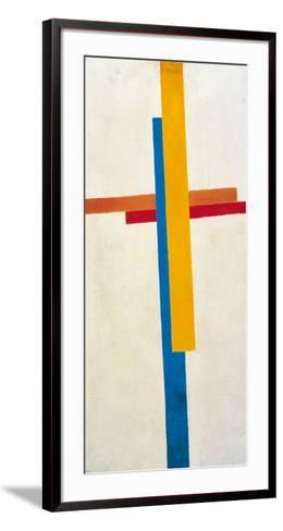 Suprematism-Kasimir Malevich-Framed Art Print