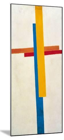 Suprematism-Kasimir Malevich-Mounted Art Print