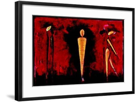 M-4 (Red)-Heinz Felbermair-Framed Art Print
