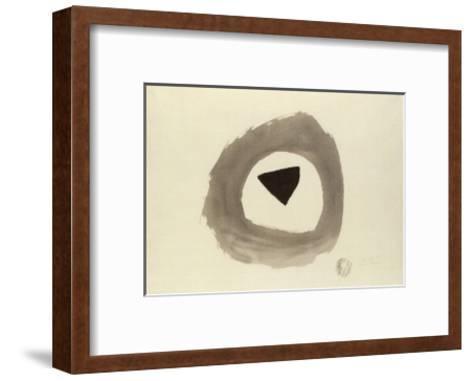 1948 E, c.1948-Julius Bissier-Framed Art Print