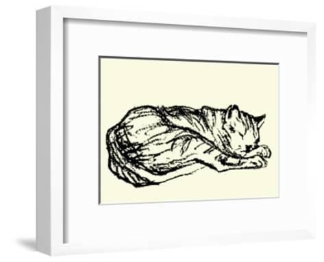 Katzen Detail 1908-Franz Marc-Framed Art Print