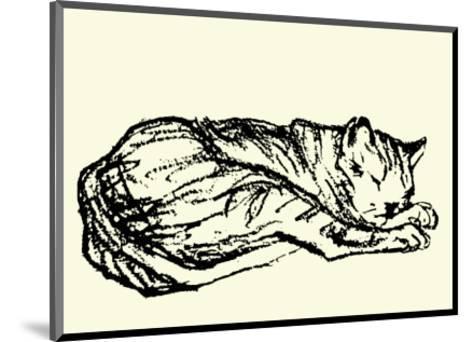Katzen Detail 1908-Franz Marc-Mounted Serigraph