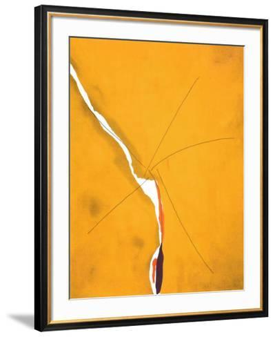 Sesame, c.1970-Helen Frankenthaler-Framed Art Print
