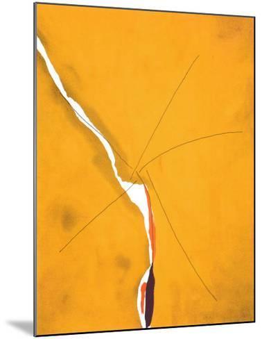 Sesame, c.1970-Helen Frankenthaler-Mounted Serigraph