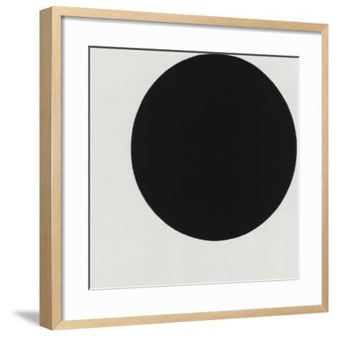 Black Circle-Kasimir Malevich-Framed Art Print