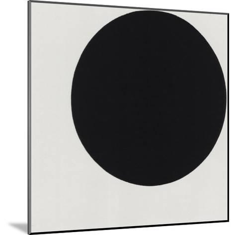 Black Circle-Kasimir Malevich-Mounted Serigraph