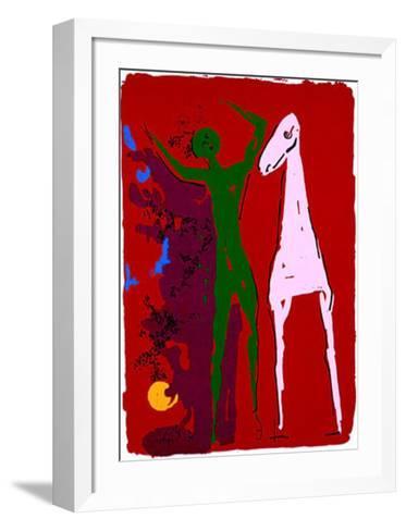 Piccolo Teatro, c.1972-Marino Marini-Framed Art Print