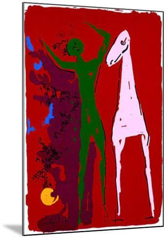 Piccolo Teatro, c.1972-Marino Marini-Mounted Serigraph