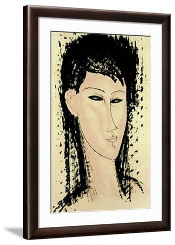 Ashanti-Amedeo Modigliani-Framed Art Print