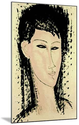 Ashanti-Amedeo Modigliani-Mounted Serigraph
