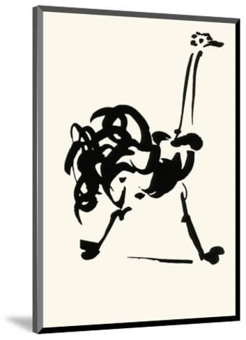 The Ostrich-Pablo Picasso-Mounted Serigraph