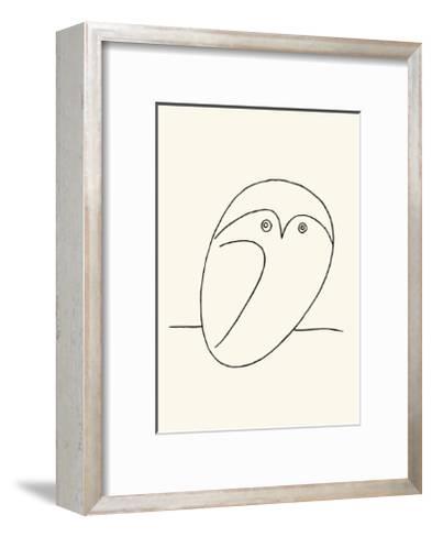 Owl-Pablo Picasso-Framed Art Print