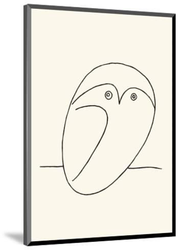 Owl-Pablo Picasso-Mounted Serigraph