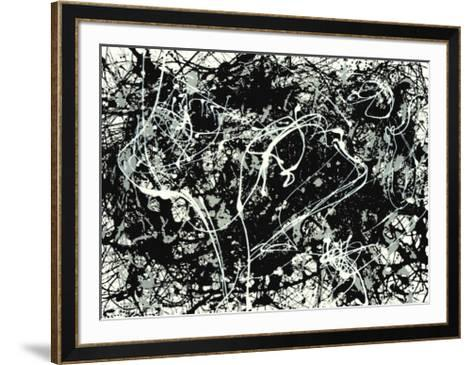 Number 33-1949-Jackson Pollock-Framed Art Print