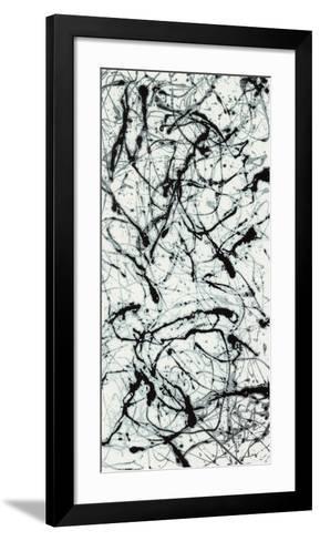 Number II A-Jackson Pollock-Framed Art Print