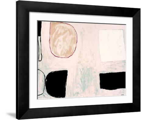 Shapes and Shadows, c.1962-William Scott-Framed Art Print