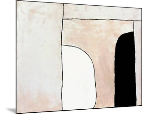 Way In, c.1963-William Scott-Mounted Serigraph