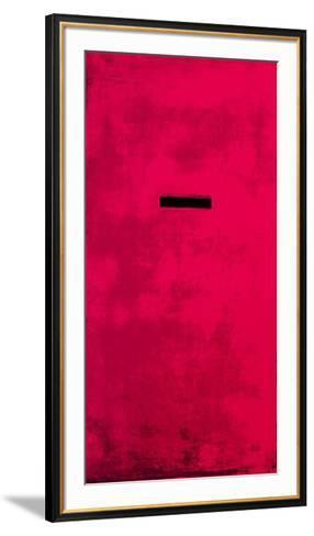 Untitled (Red)-J?rgen Wegner-Framed Art Print