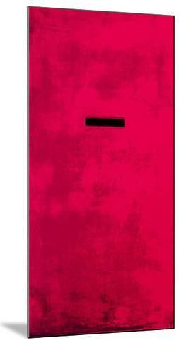 Untitled (Red)-J?rgen Wegner-Mounted Serigraph