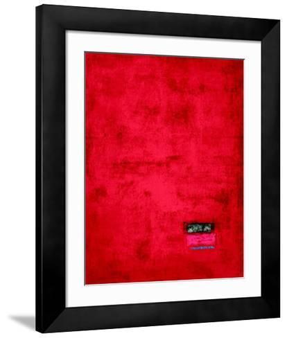 Untitled, c.1991 (Red)-J?rgen Wegner-Framed Art Print