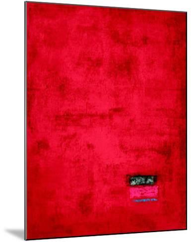 Untitled, c.1991 (Red)-J?rgen Wegner-Mounted Serigraph
