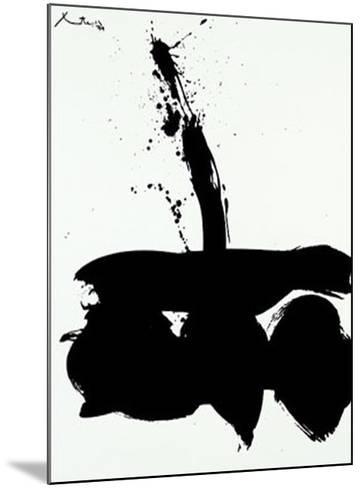 Samura N.1, c.1974-Robert Motherwell-Mounted Serigraph