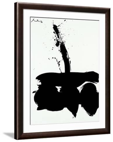 Samura N.1, c.1974-Robert Motherwell-Framed Art Print