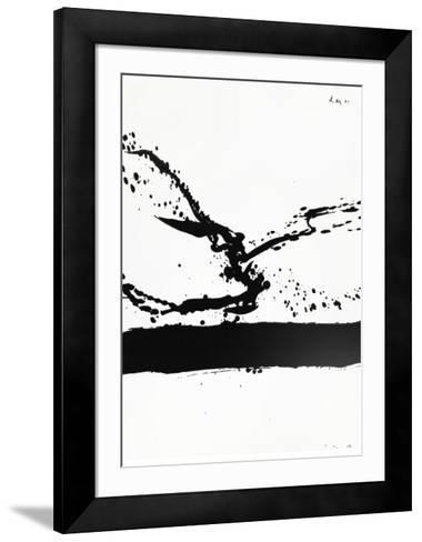 Beside the Sea No. 24, c.1962-Robert Motherwell-Framed Art Print