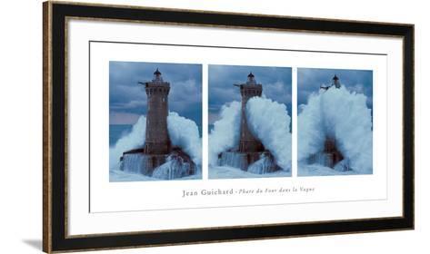 Phare du Four Dans la Vague-Jean Guichard-Framed Art Print
