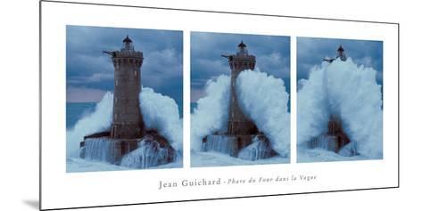 Phare du Four Dans la Vague-Jean Guichard-Mounted Art Print