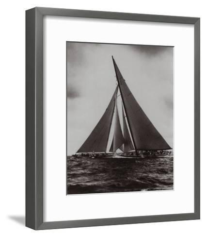 Regatta of Excellence/Enterprise & Yanke--Framed Art Print