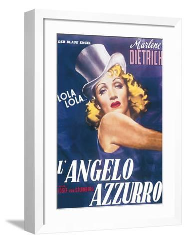 The Blue Angel--Framed Art Print