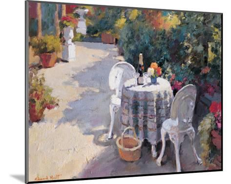 Road with Two Chairs-Edward Noott-Mounted Art Print
