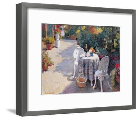 Road with Two Chairs-Edward Noott-Framed Art Print