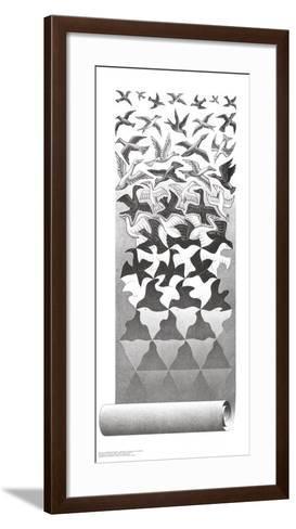 Liberation-M^ C^ Escher-Framed Art Print