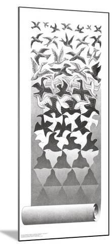 Liberation-M^ C^ Escher-Mounted Art Print