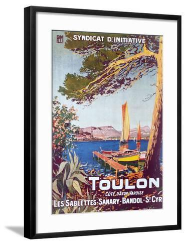 Toulon--Framed Art Print