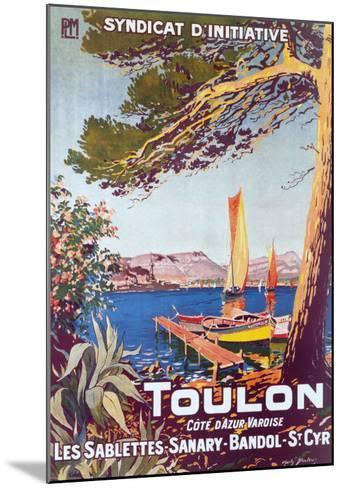 Toulon--Mounted Art Print