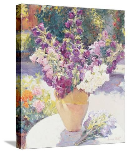 Flower Vase-Edward Noott-Stretched Canvas Print